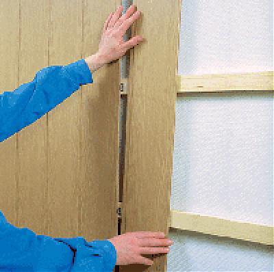 Как установить декор панель на стену